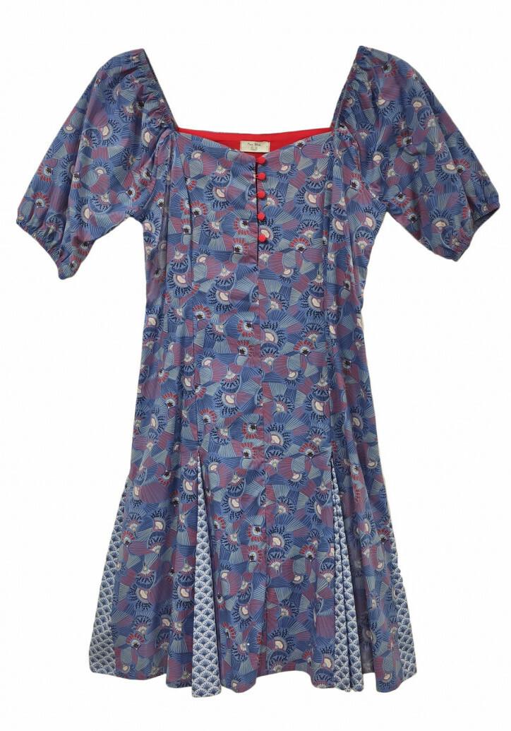 Paul Brial: Dancing Trees Puff Sleeve Mini Dress (2 Left!) PB_EVENTAIL