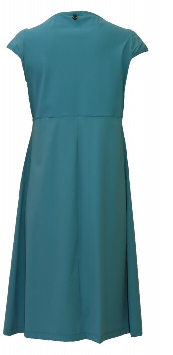 Maloka: Fun Flipped Neck High Waisted Midi Dress (More Colors!)