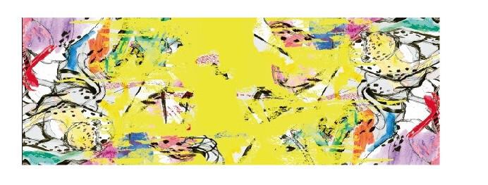 Maloka: Beauty Blooms Art Beach Skirt/Shawl (Converts to Art Scarf!)