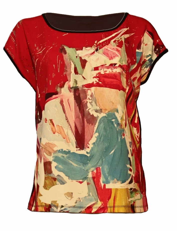 Maloka: Find The Artist Shimmering Colors Of MontMartre T-Shirt SOLD OUT