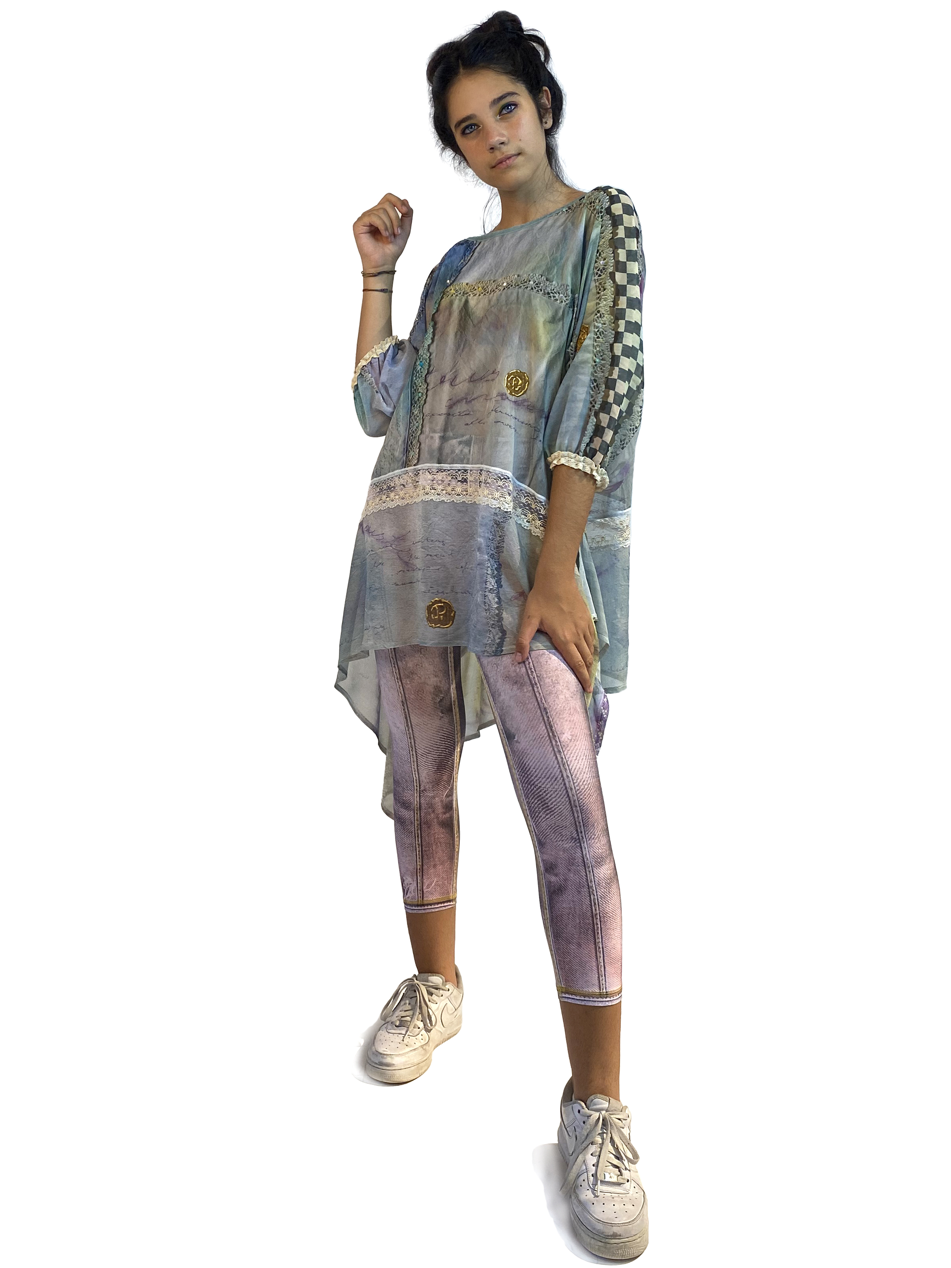 IPNG: Never Enough Color Flared Long Tunic (Some Ship Immed!)