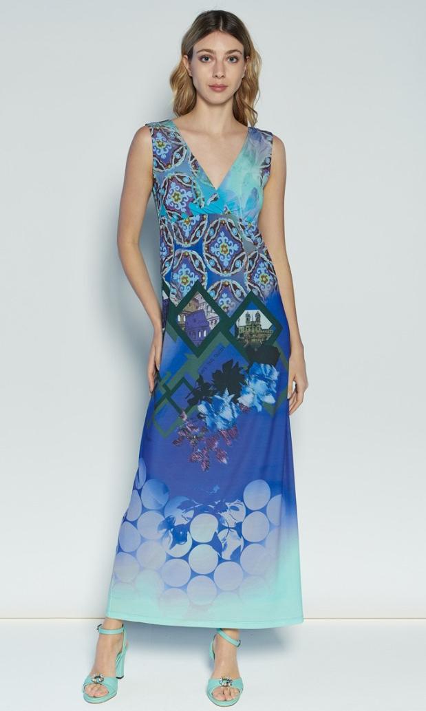 Save The Queen: The Beauty Of Rome Art Maxi Dress (1 Left!) STQ_4235