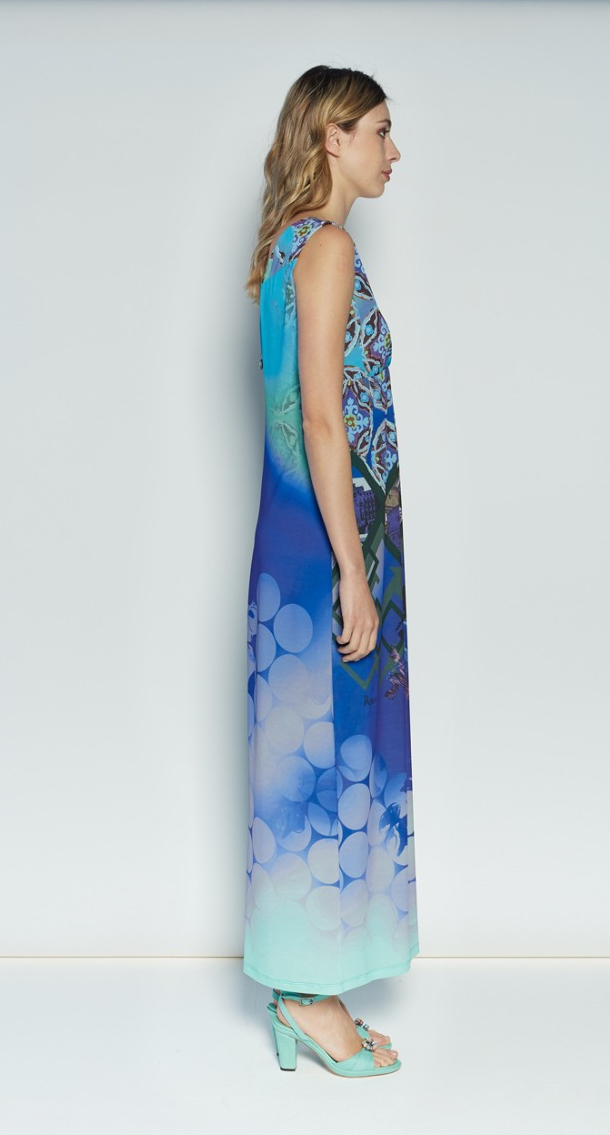 Save The Queen: The Beauty Of Rome Art Maxi Dress (1 Left!)
