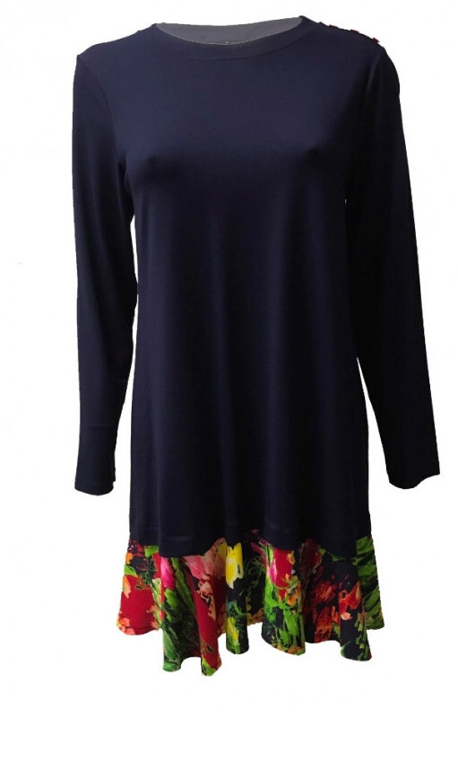 Maloka: Floral Flounce Sweater Dress (More Colors!)