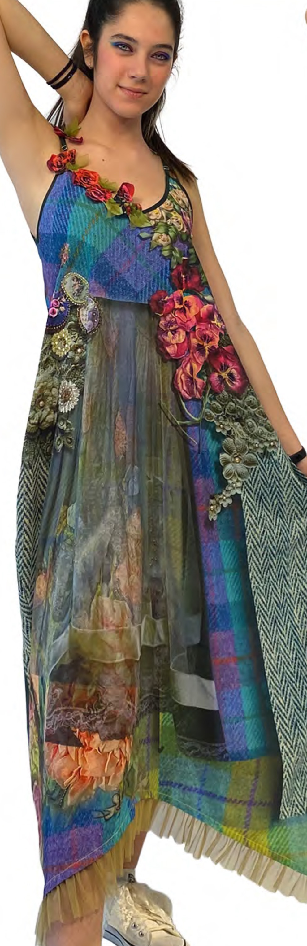 IPNG: Mood Of Flavour V Pocket Maxi Dress IPNG_MFDVN-064
