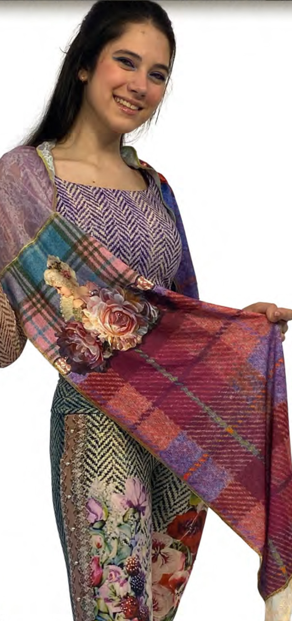 IPNG: Mood Of Flavour Illusion Shawl Scarf