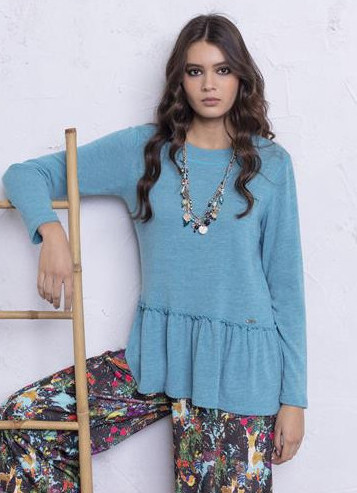 Maloka: So Soft Flared Tricot Sweater (More Colors!) MK_OLYMPE