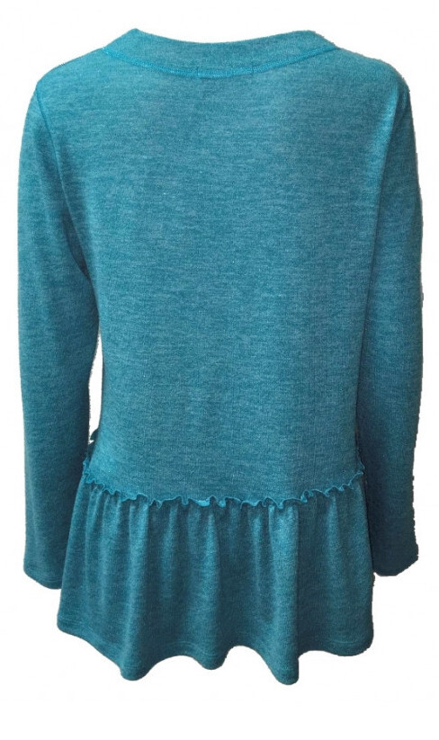 Maloka: So Soft Flared Tricot Sweater (More Colors!)