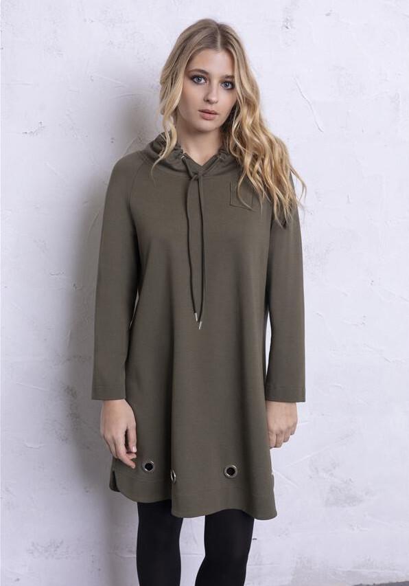 Maloka: Deliciously Comfy Hoodie Shirt Dress (More Colors!) MK_DAVA