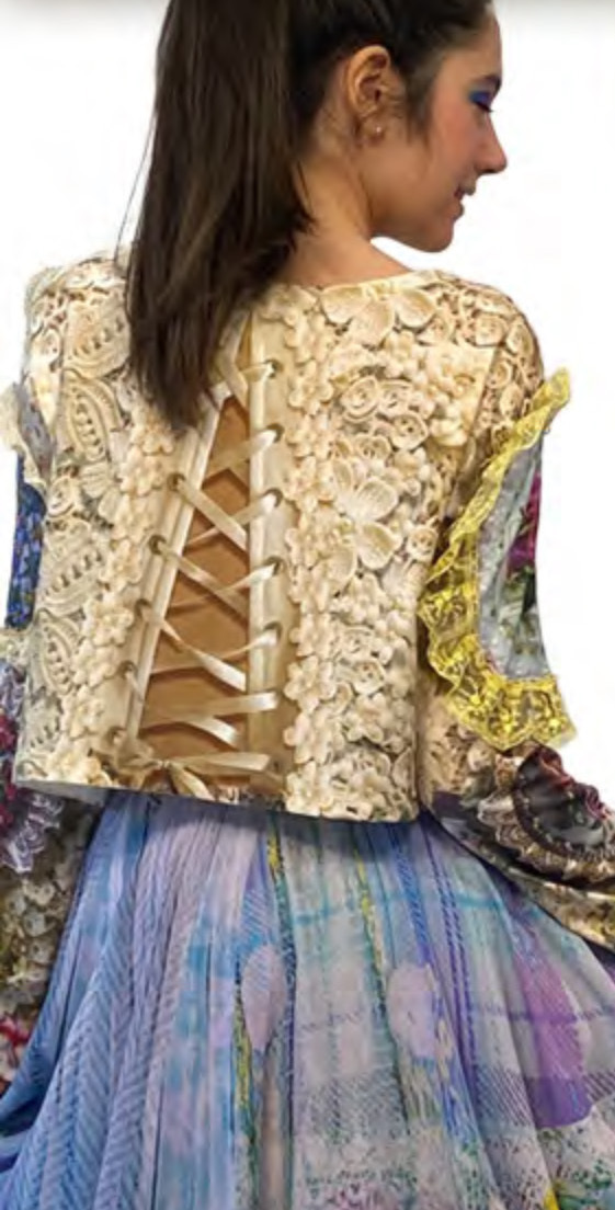 IPNG: Mood Of Flavour Ruffle Illusion Blouse