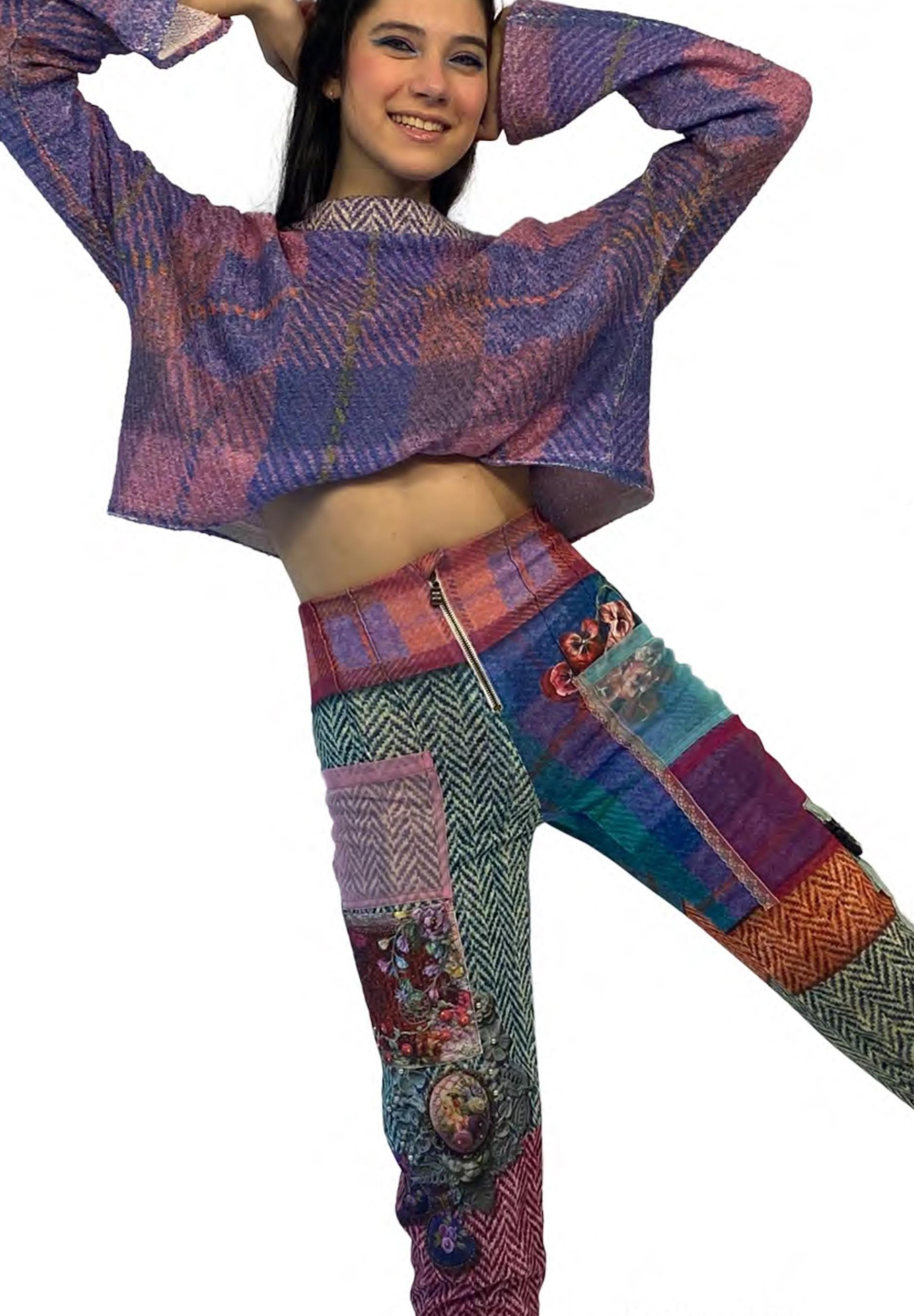 IPNG: Mood Of Flavour Tweed Illusion Sweatpants