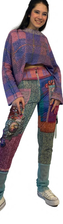 IPNG: Mood Of Flavour Tweed Illusion Sweatpants IPNG_MFSWP-089