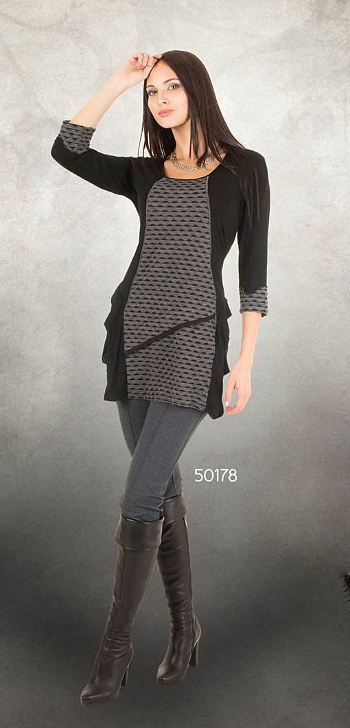 Dzhavael Couture: Asymmetrical Diamond tunic (1 Left!) DZ_50178