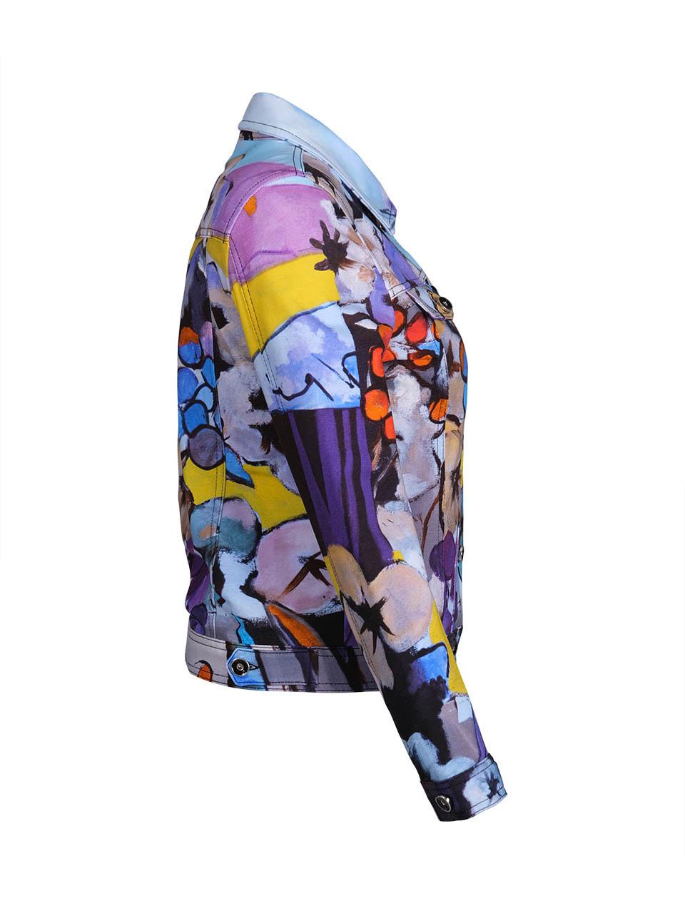 Simply Art Dolcezza: Still Life Abstract Art Soft Denim Jacket