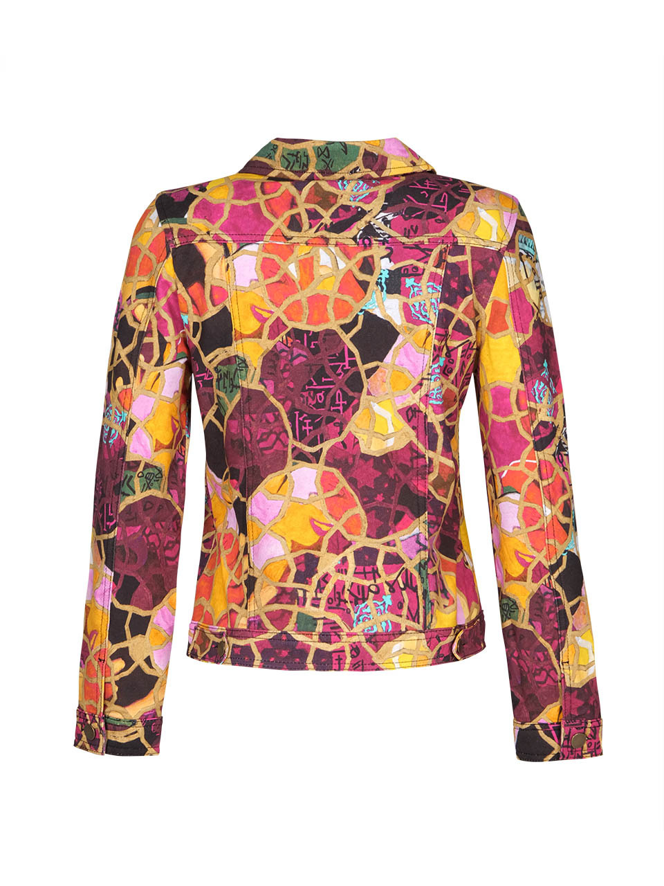 Simply Art Dolcezza: Blessings With Rings Soft Denim Jacket