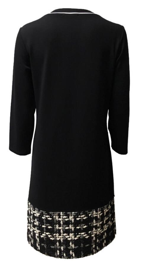 Maloka: The Colors Of Coco Chanel Jacquard Hem Dress (1 Left!)