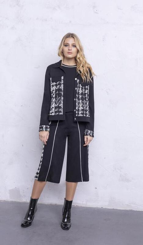 Maloka: The Colors Of Coco Chanel Jacquard Stretch Denim Jacket (2 Left!) MK_COREY