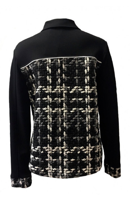 Maloka: The Colors Of Coco Chanel Jacquard Stretch Denim Jacket (2 Left!)