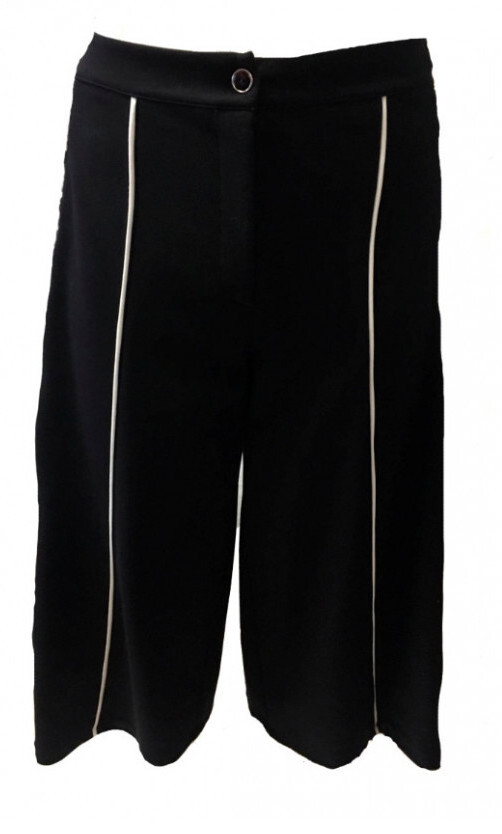 Maloka: The Colors Of Coco Chanel Jacquard Stretch Gaucho Pants