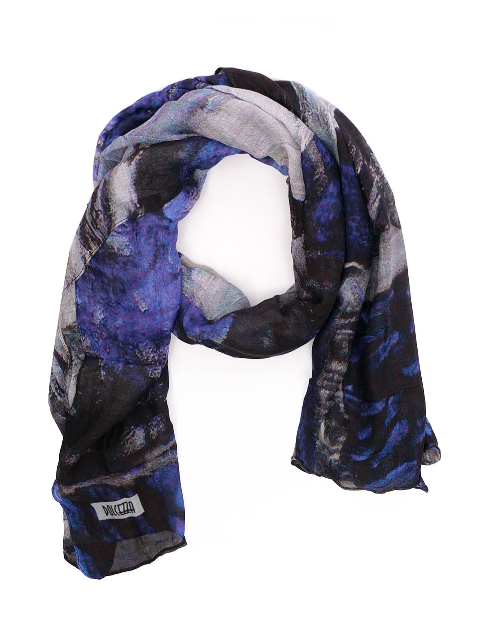 Simply Art Dolcezza: After Midnight Abstract Art Scarf