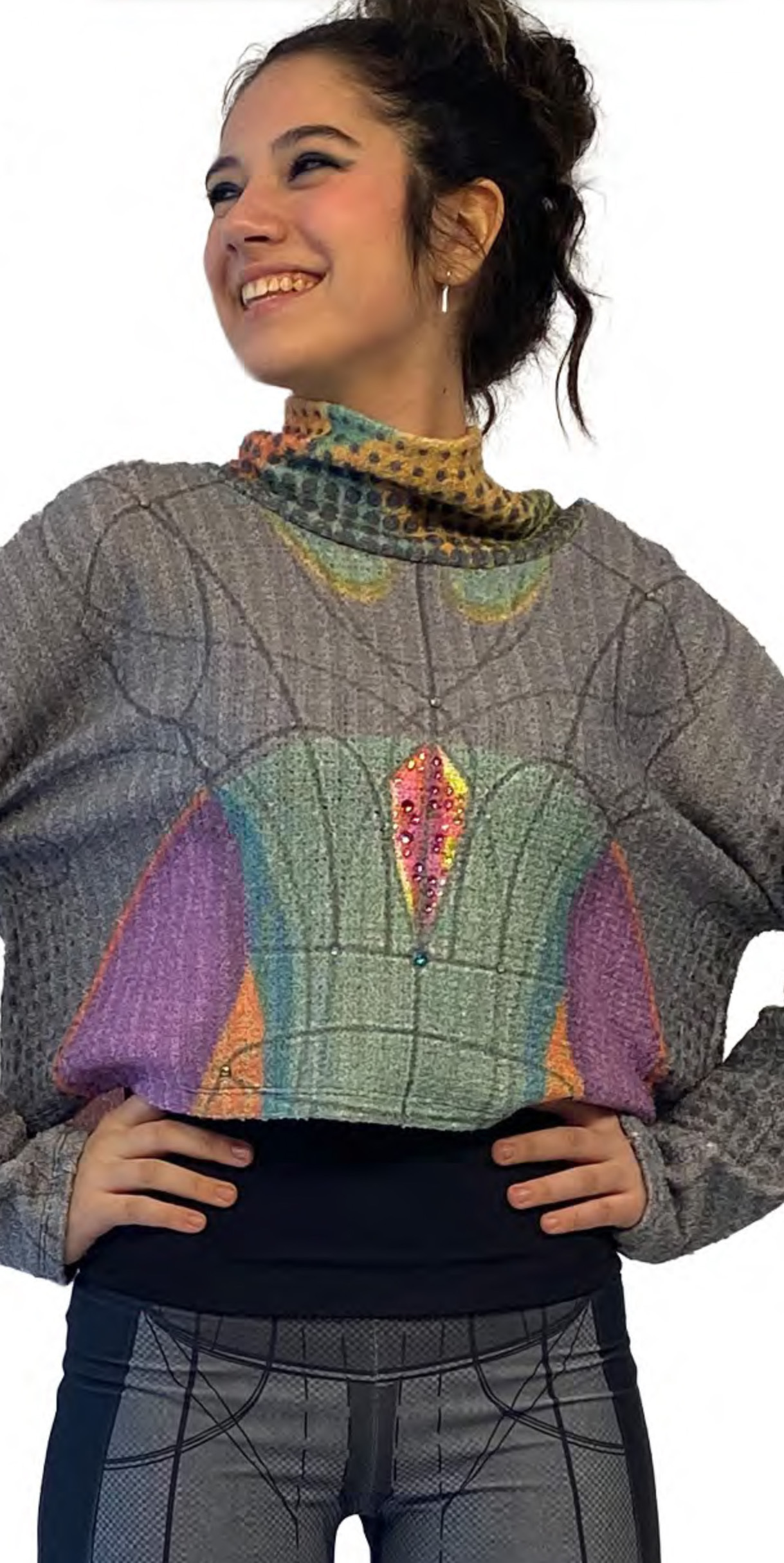 IPNG: Art Is My Body In Rhythm Illusion Pullover