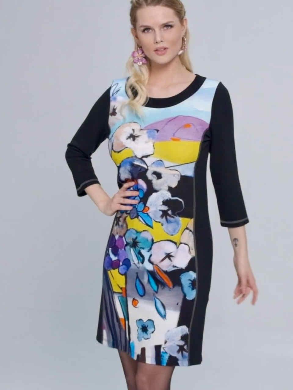 Simply Art Dolcezza: Still Life Abstract Art Dress (Few Left!) Dolcezza_SimplyArt_71645