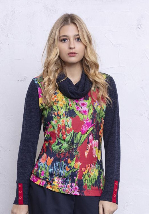 Maloka: Fancy Floral Little Sweater SOLD OUT MK_EMORY