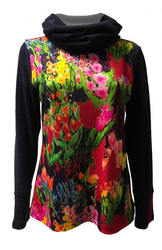 Maloka: Fancy Floral Little Sweater SOLD OUT
