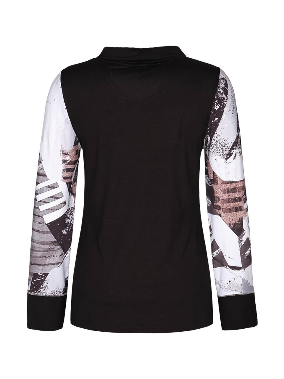 Simply Art Dolcezza: A Splash of Cacao Abstract Art Top (Few Left!)
