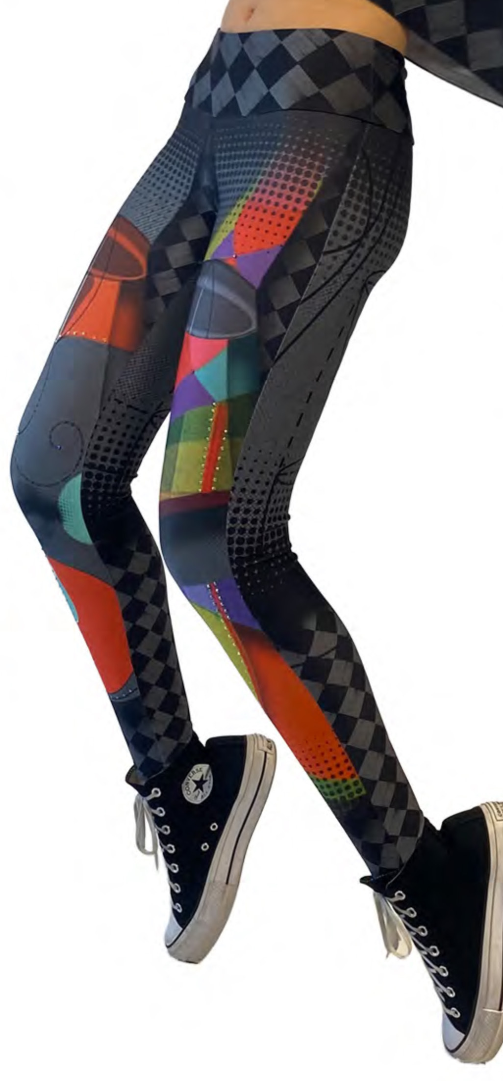 IPNG: Art Is My Body In Rhythm Illusion Legging IPNG_AIL-049