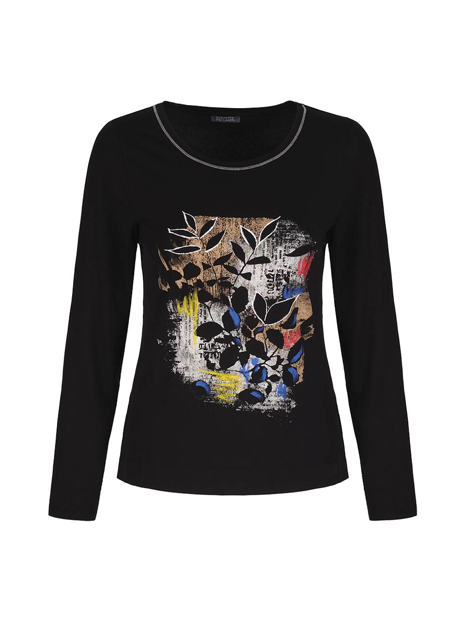 Simply Art Dolcezza: Double OO Abstract Art Top (2 Left!) Dolcezza_SimplyArt_71691