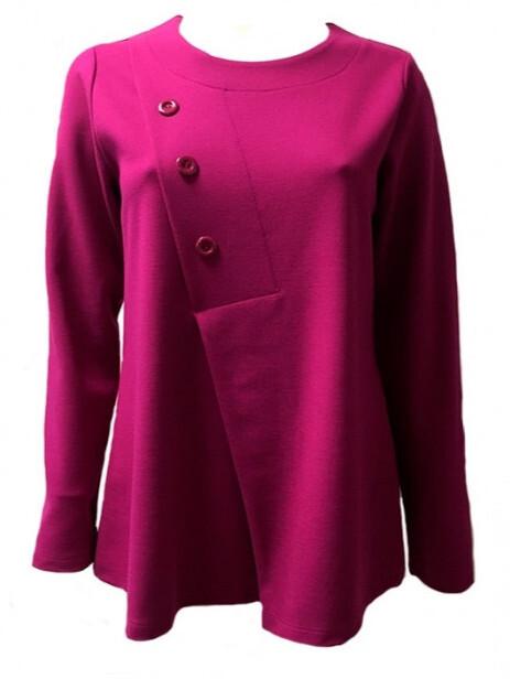 Maloka: Ponto Roma Flared Sweater MK_DELAINE