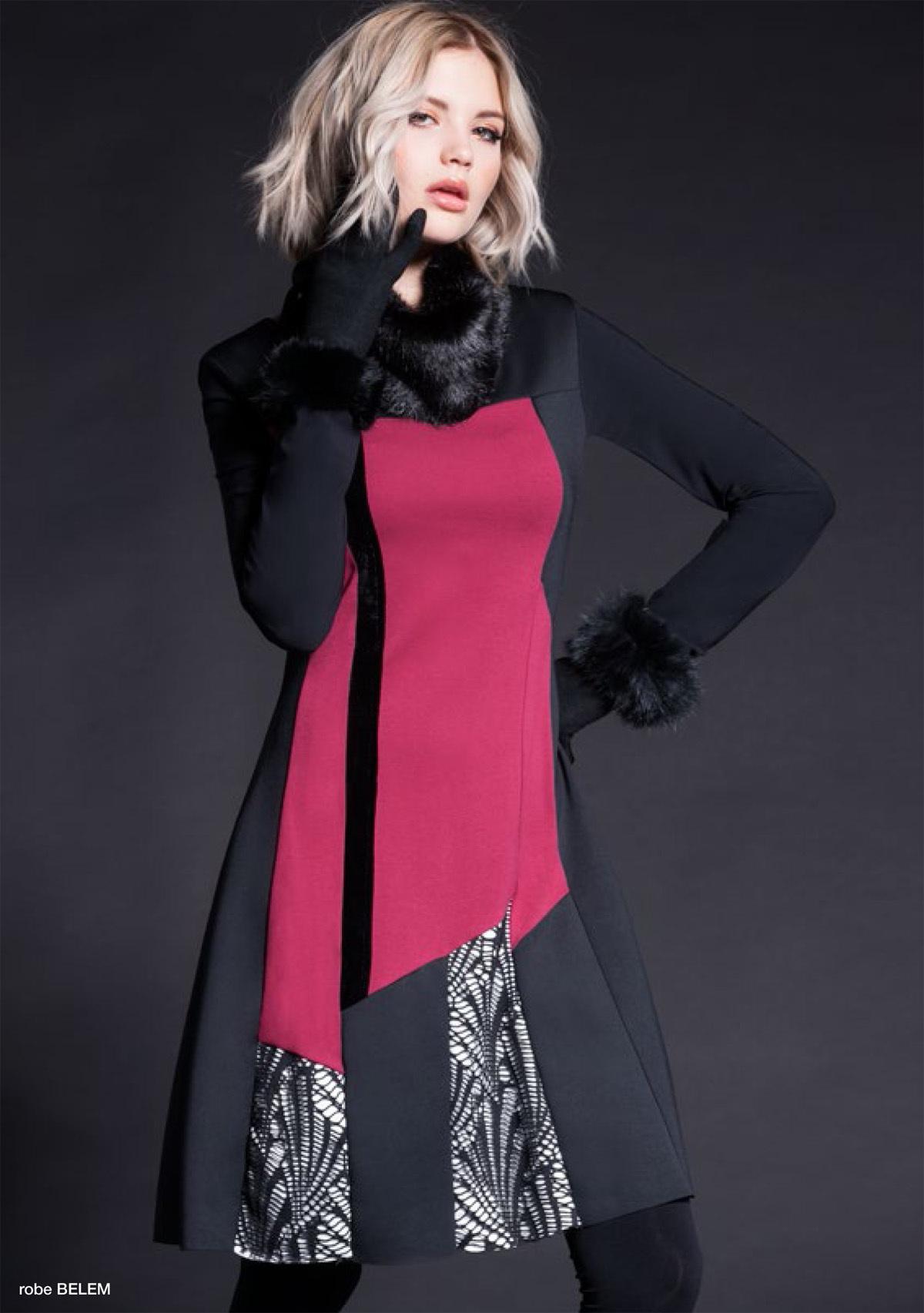 Maloka: Colored Diamond Twist Dress (More Colors!) MK_BRIDGET_N7