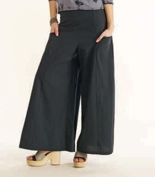 Luna Luz: Wide Leg Dyed Pocket Pant SOLD OUT LL_190_N1