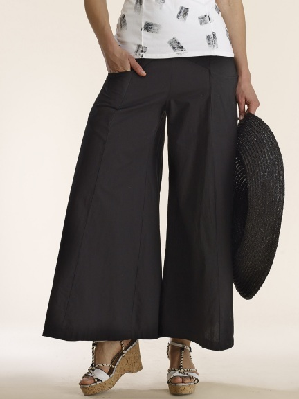 Luna Luz: Wide Leg Dyed Pocket Pant SOLD OUT