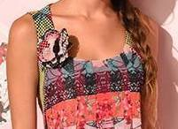 Eroke Italy: Pink Sangria Pleated Dress