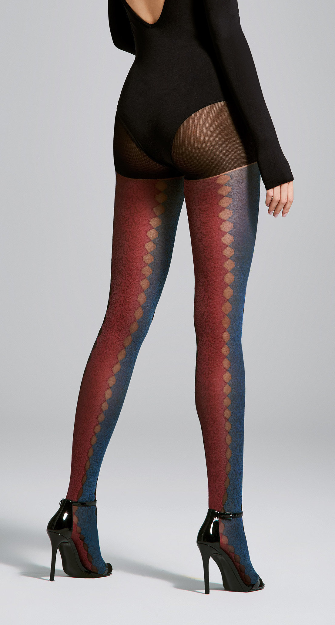 Fiore: Sexy Sunset Sunrise Semi-Opaque Tights SOLD OUT FIO_JOURNEY_N