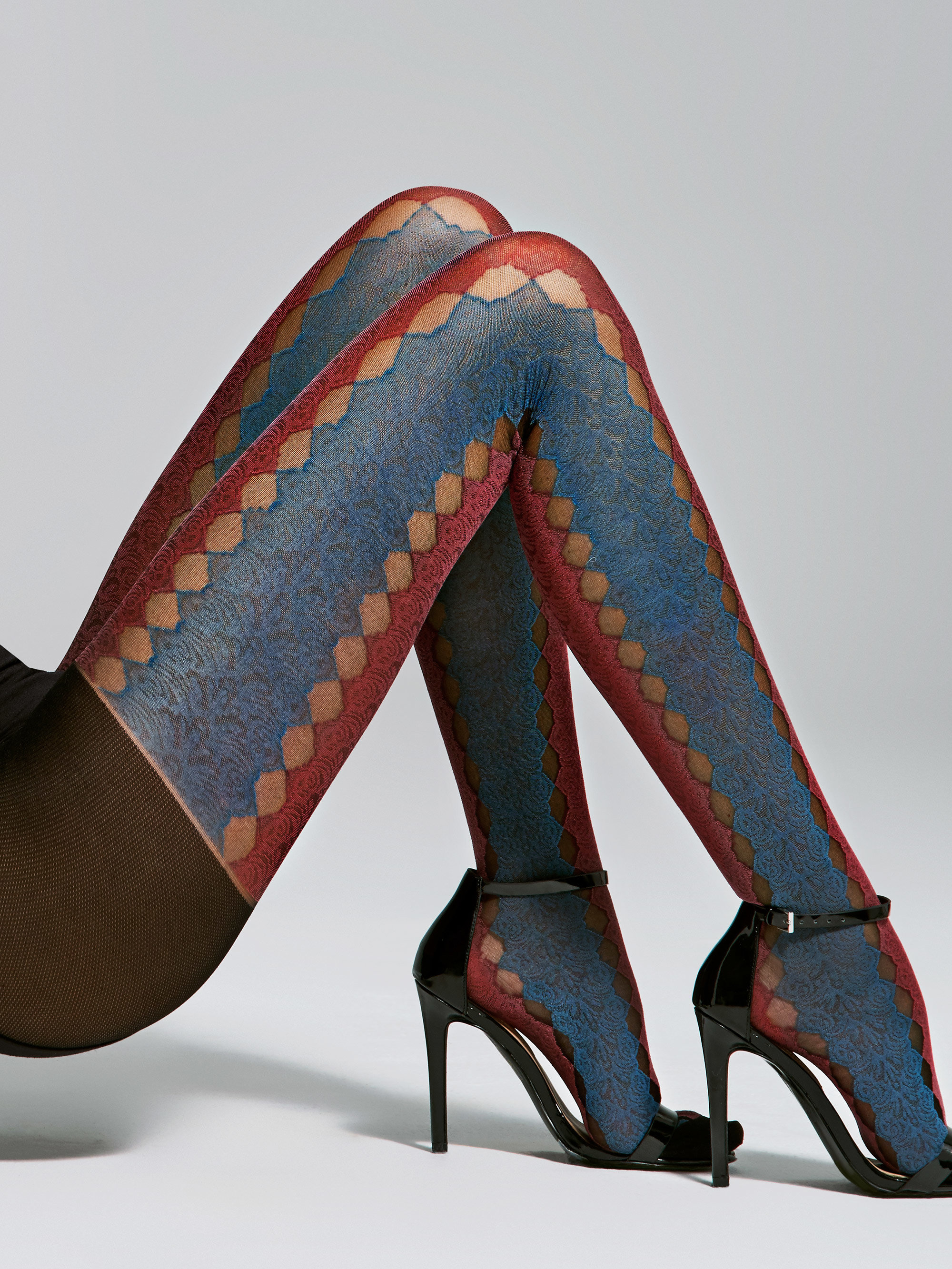 Fiore: Sexy Sunset Sunrise Semi-Opaque Tights SOLD OUT