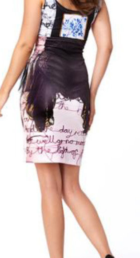 IPNG: Sexy Peasant Corset Illusion Mini Skirt