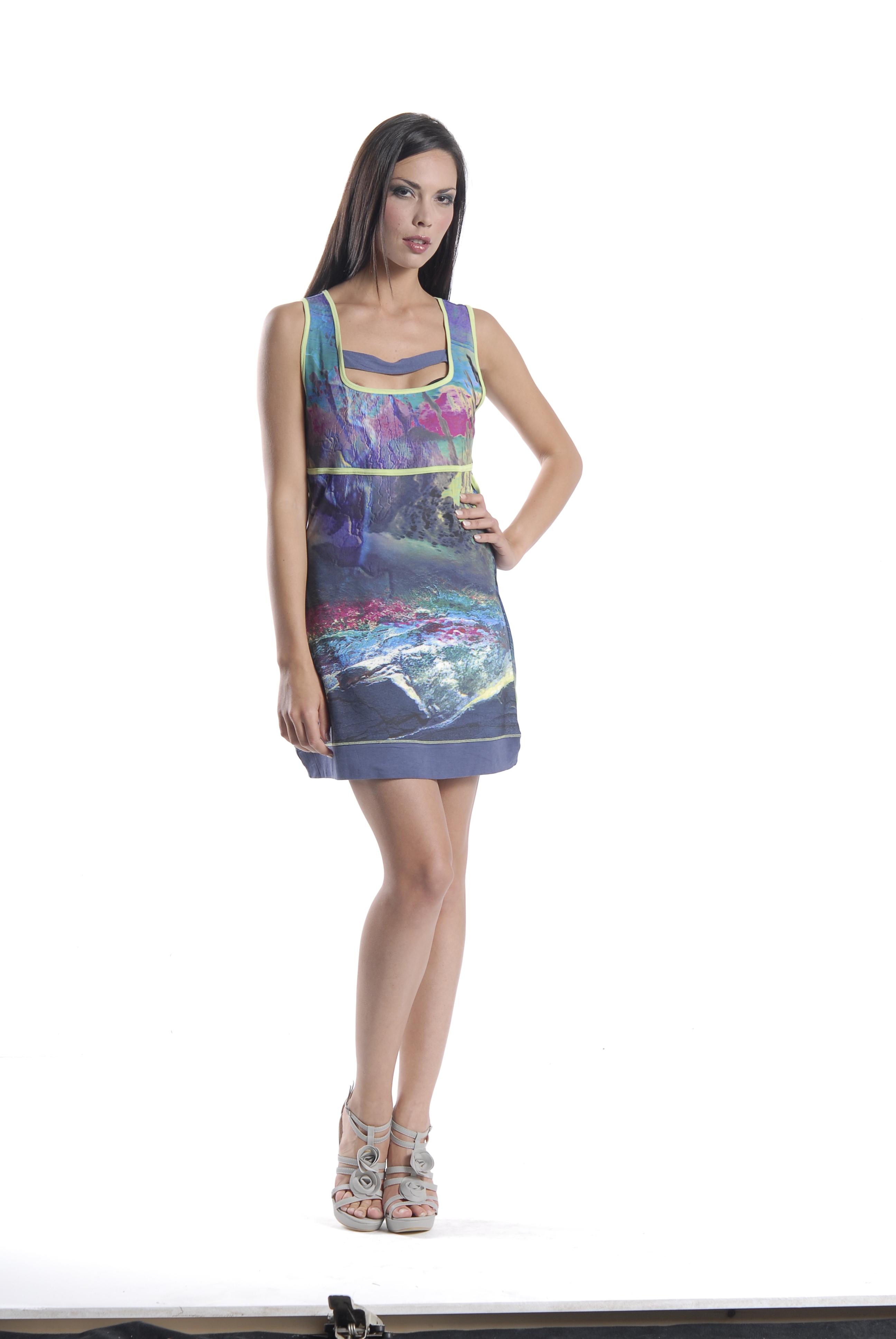 Les Fees Du Vent Thunderstruck Mini Dress/Tunic LFDV_886208_ONEIRA
