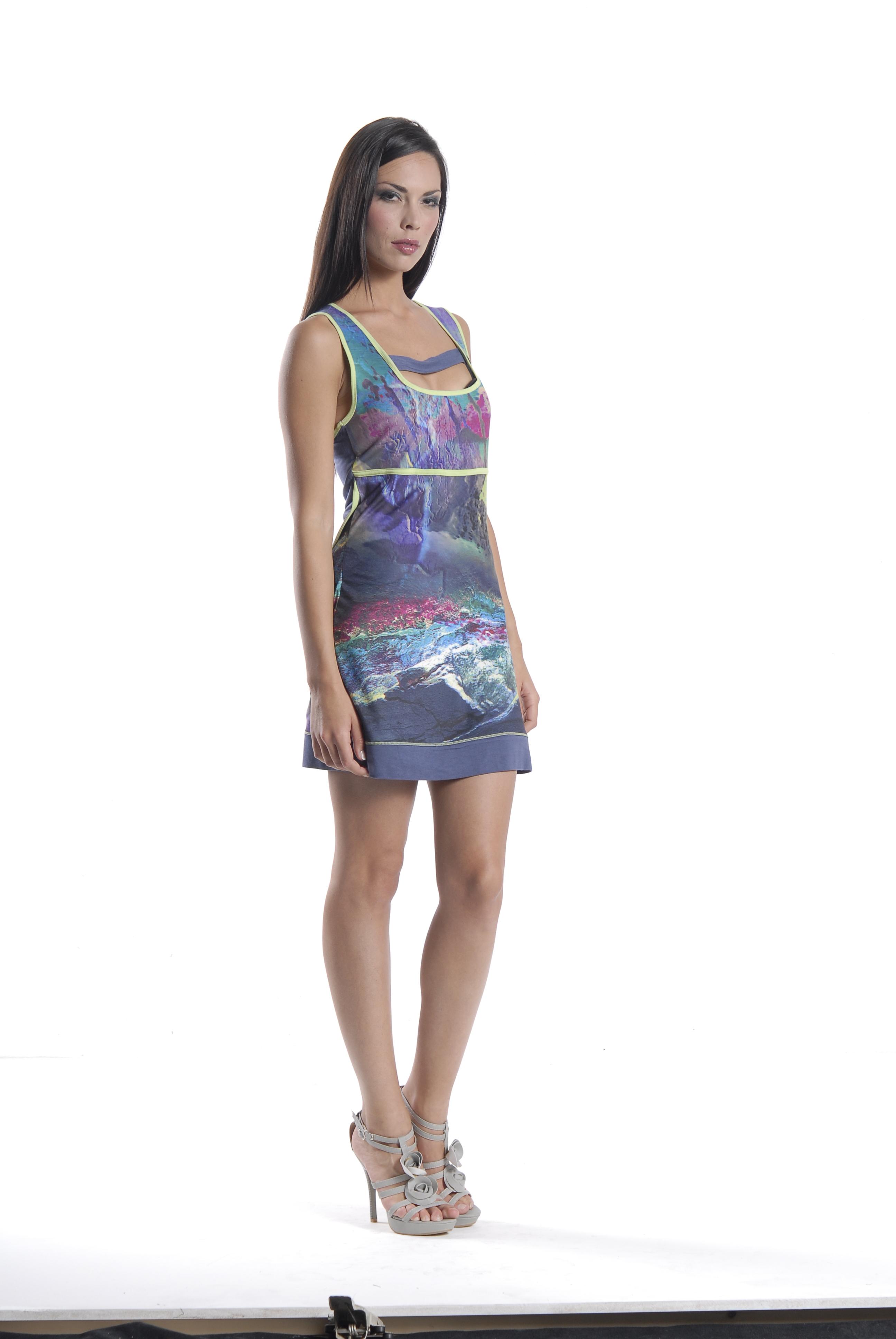 Les Fees Du Vent Thunderstruck Mini Dress/Tunic