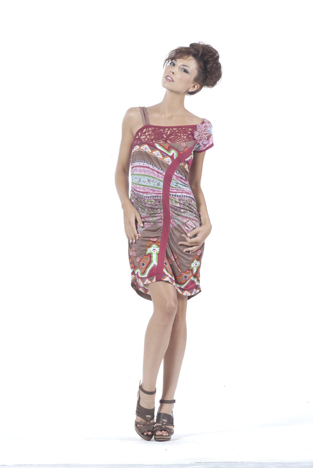 Les Fees Du Vent Arabesque Asymmetrical Dress (2 Left!) LFDV_884201_DRESS