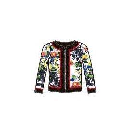 Paul Brial: Palma De Mallorca Nights Princess Seamed Zip Up Jacket (1 Left!)