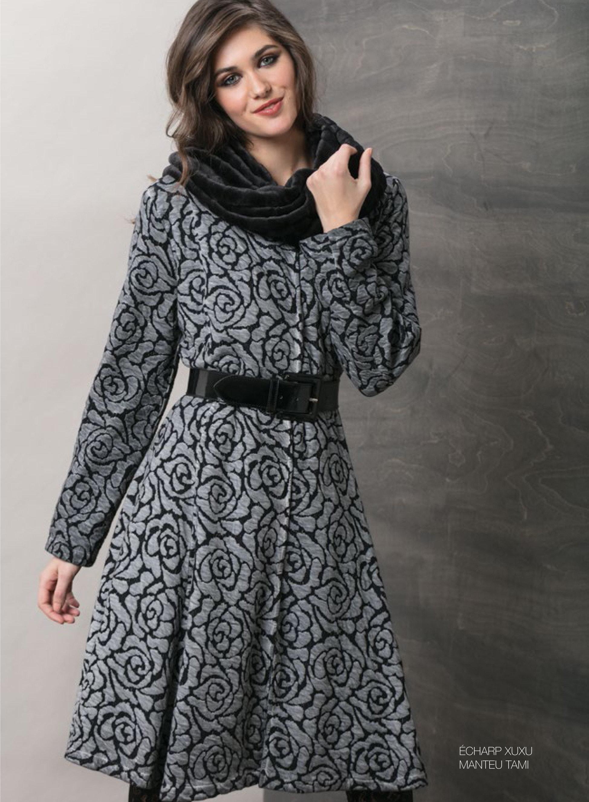 Maloka: Black Rose Fit & Flare Coat (More Colors!) MK_TAMI_MANTEAU_N5