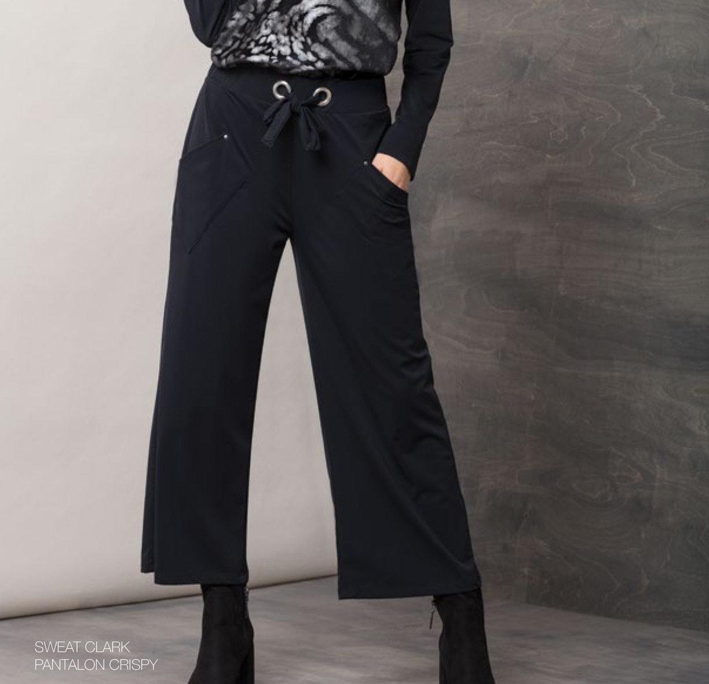 Maloka: Crisp Comfort Wide Leg Pocket Pant MK_CRISPY_N