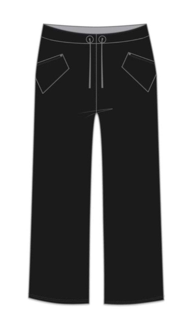 Maloka: Crisp Comfort Wide Leg Pocket Pant