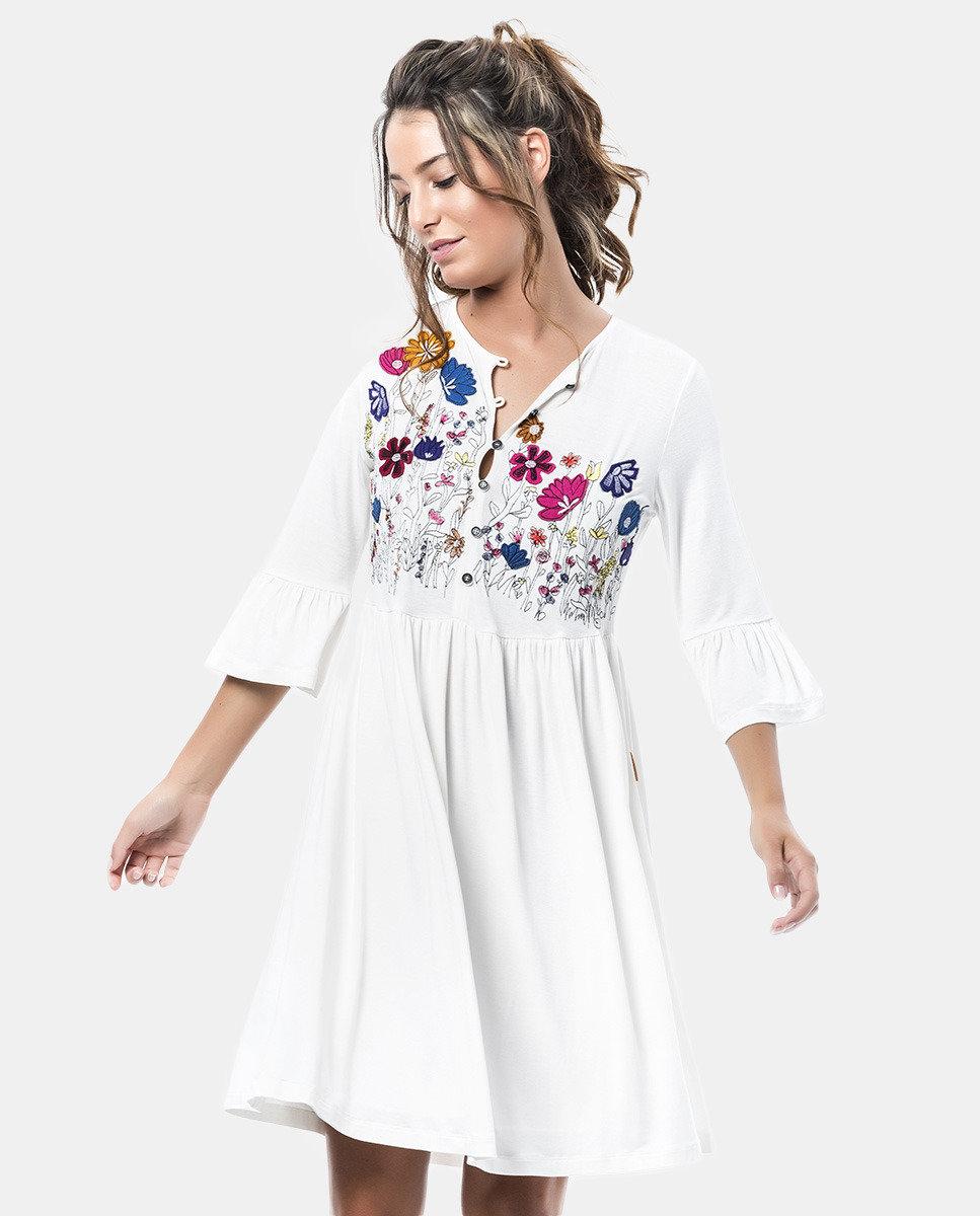 Mamatayoe: Fuschia Snow Garden Flute Dress (2 Left!)