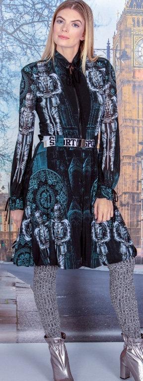 Petit Pois: Kingdom Bubble Zip Up Coat Dress