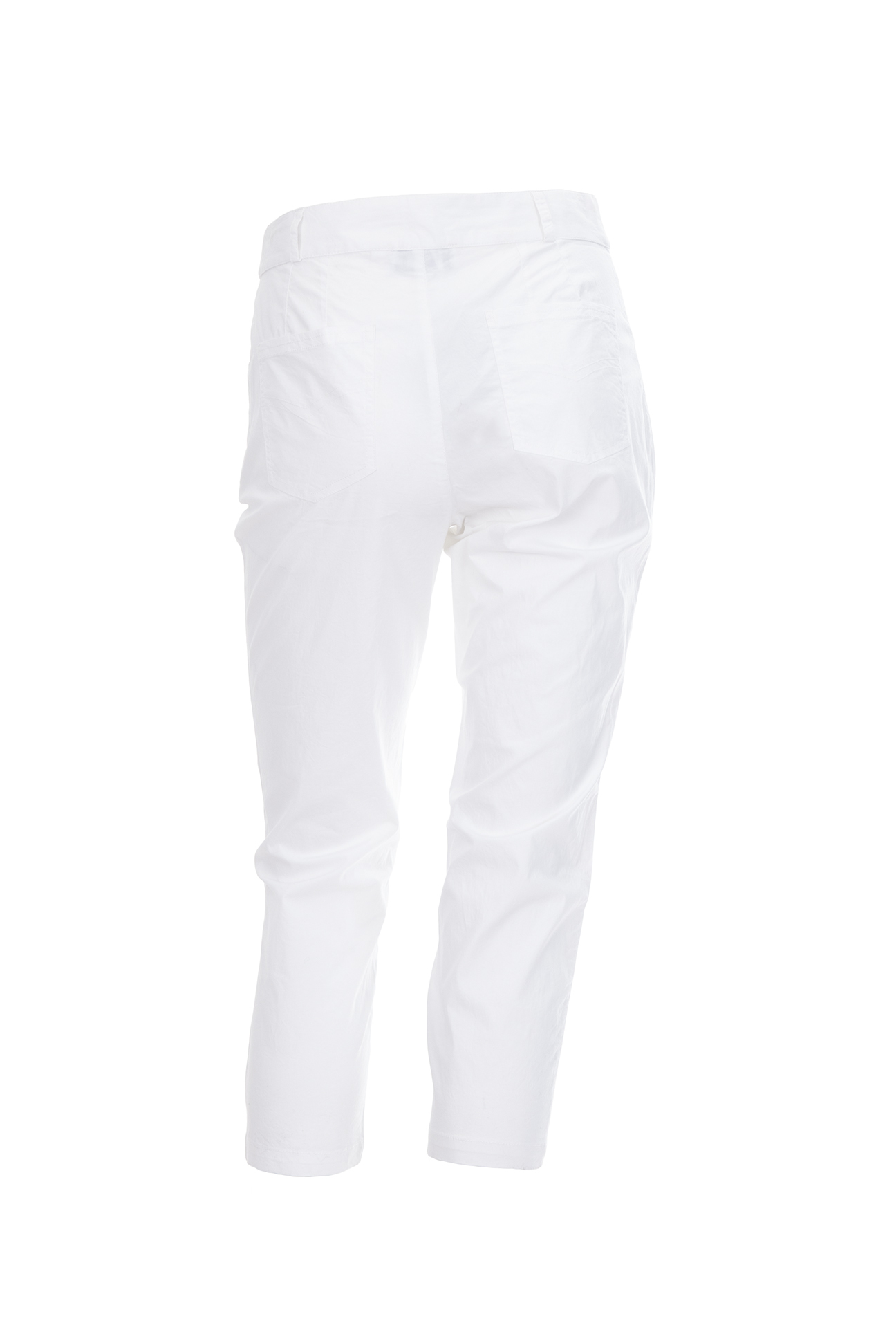 Les Fees Du Vent Couture: Midnight Orchid Cropped Pant (In Black & White)