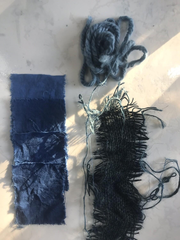 ON-LINE • 26/5 • Vivência tingimento com índigo em pó: preparo e cuidados com a tina (Módulo 2)